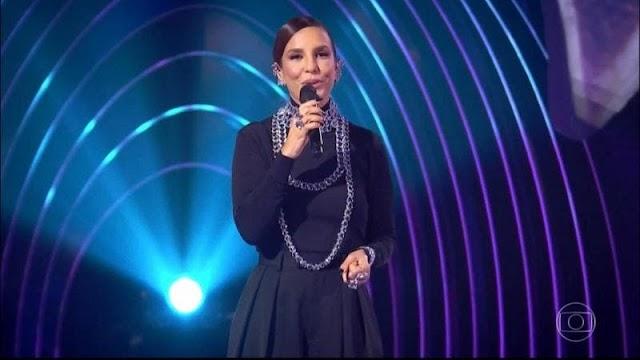 Ivete Sangalo está cotada para comandar programa nas tardes de sábado da Globo
