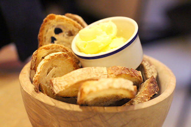 Casual supper at The Larder, Fitzrovia - London restaurant blog