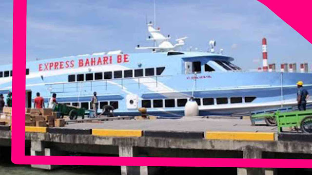 Jadwal kapal Express Bahari 8 E Kapal Gresik Bawean