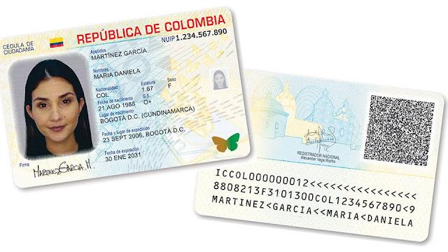 nueva cedula colombiana