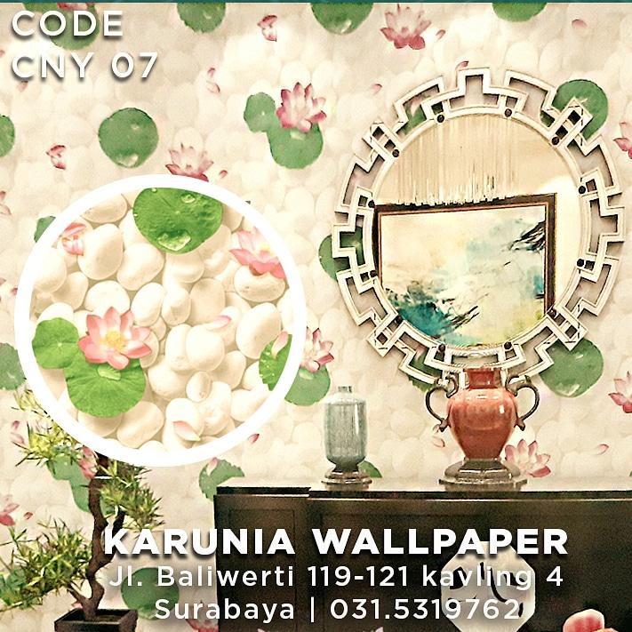 jual wallpaper bunga lotus