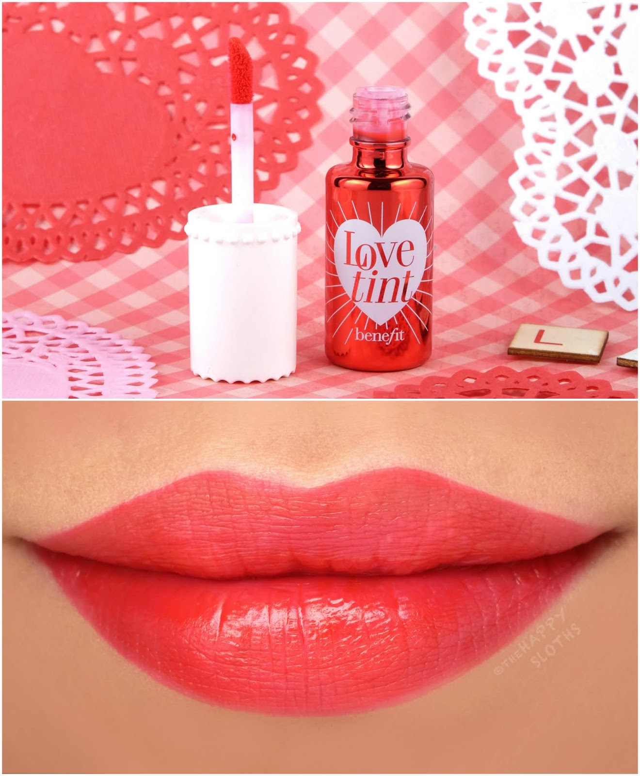 Benefit Cosmetics | Lovetint Lip & Cheek Stain: Review and Swatches