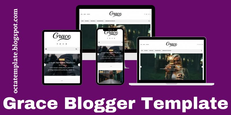 Grace Blogger Template
