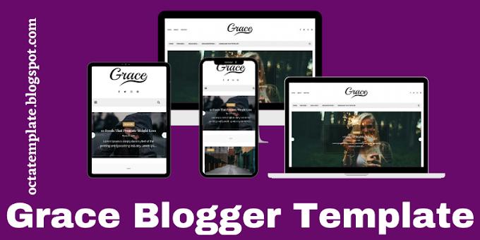 Grace Blogger Template   Simple & Elegant looking blogger template