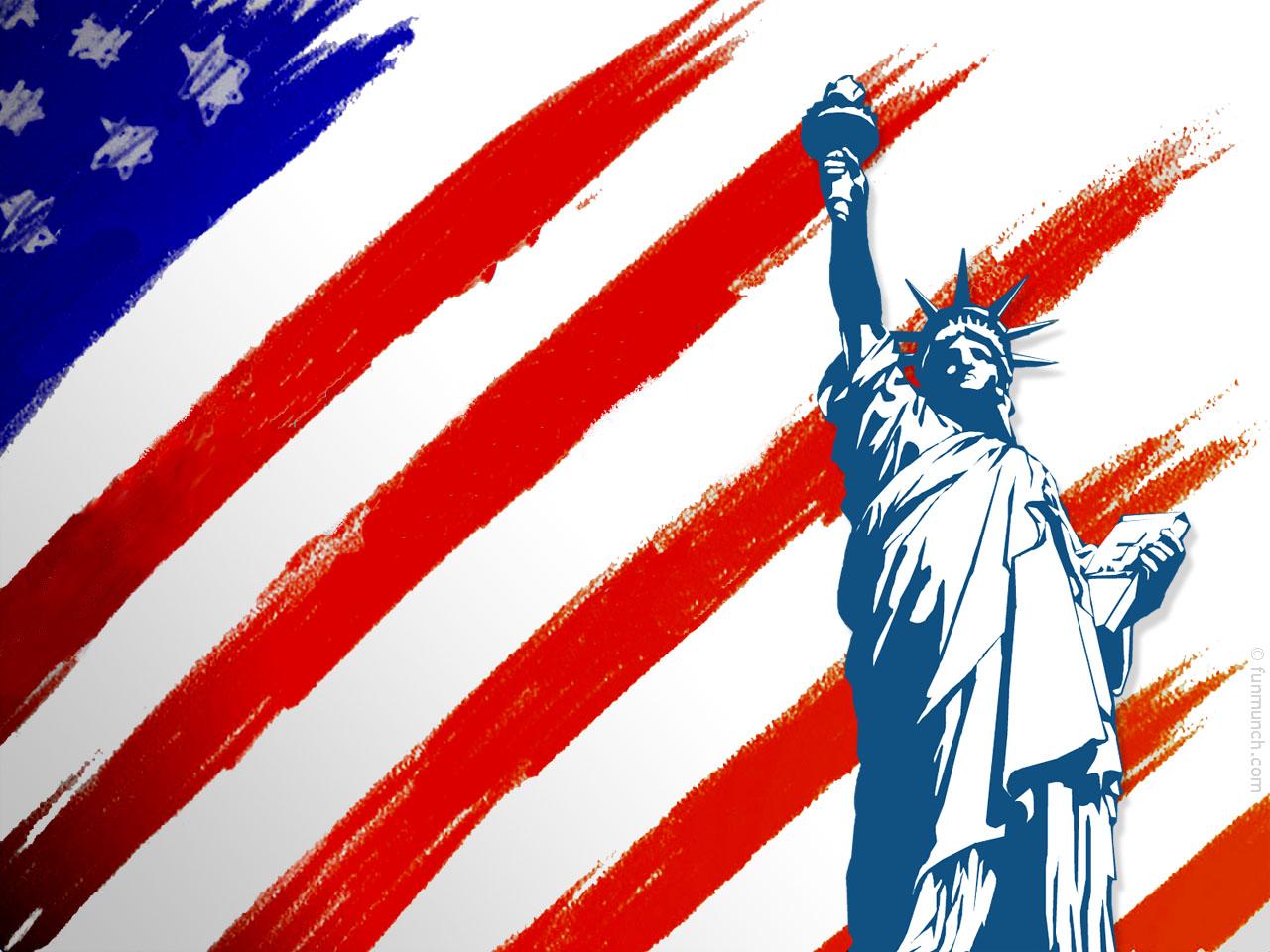 moleskinex19: American Flag Wallpaper