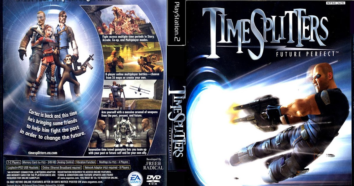 GAME PS2: TimeSplitters Future Perfect