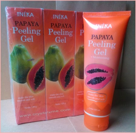 Papaya Peeling Gel Original Dari Inika