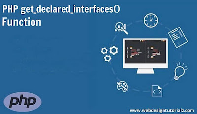 PHP get_declared_interfaces() Function