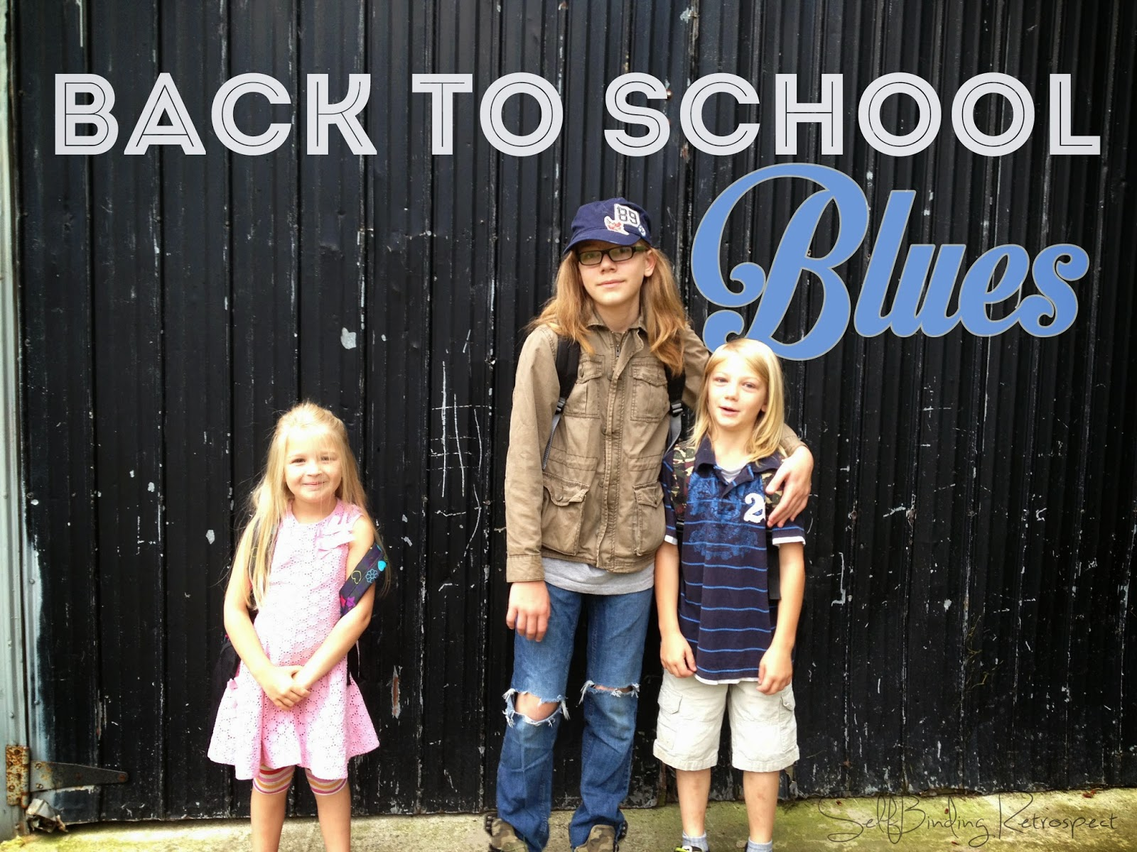 Back To School Blues - SelfBinding Retrospect by Alanna Rusnak