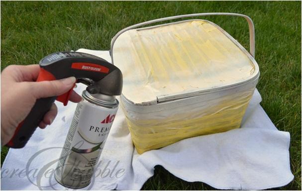 piknik sepeti nasıl süslenir