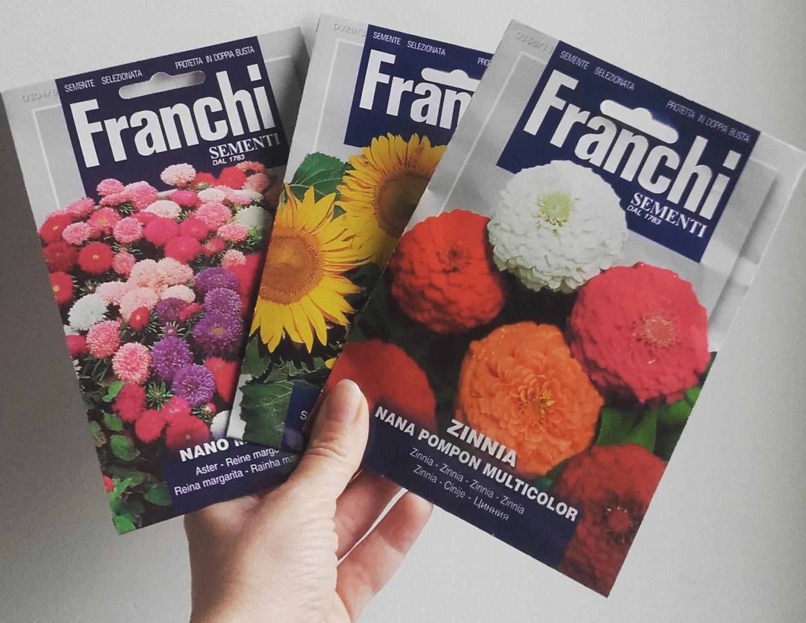 Quali Bulbi Piantare In Primavera pacchetti e confetti: semi e bulbi da piantare in primavera