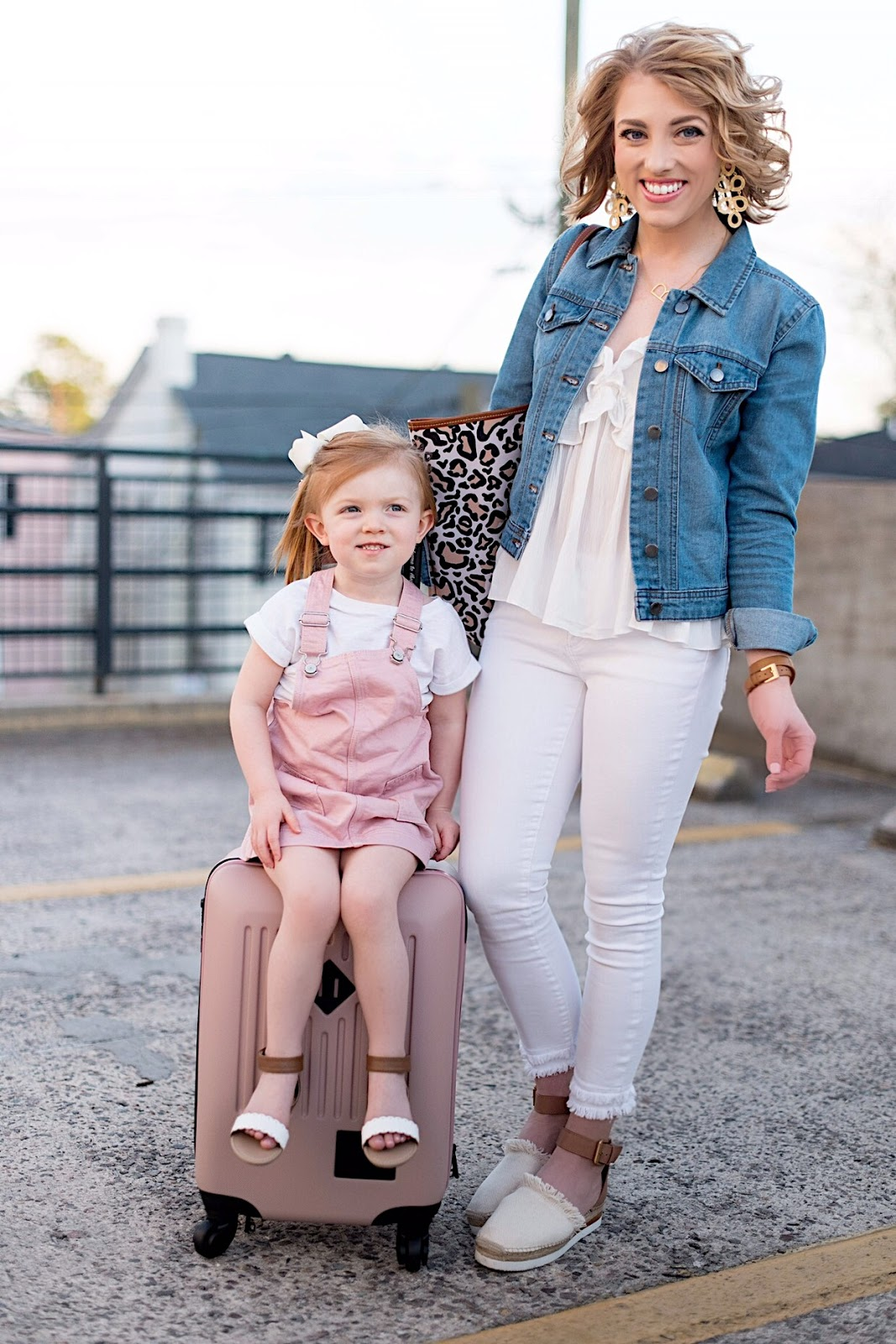 Mommy and Me Travel Style - Something Delightful Blog