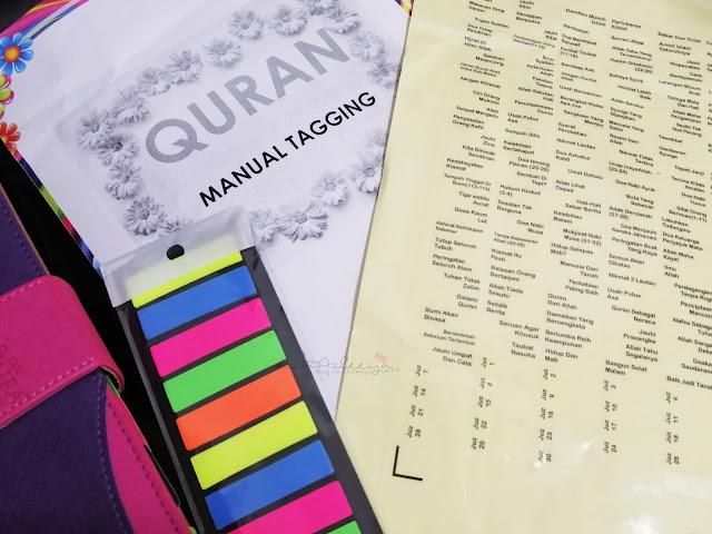 Al-Quran Tagging Hadiah Dari Teman Sempena Menyambut Ramadhan