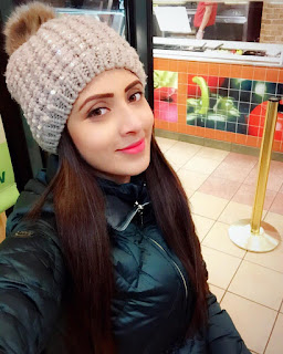 Bidya Sinha Saha Mim Cute Winter Season Photos