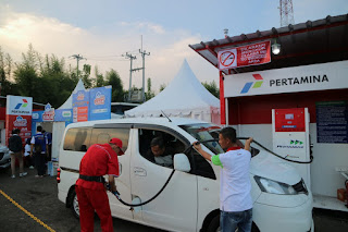 Pengalaman Mudik Pakai BBM SPBU Modular di Tol Trans Sumatra