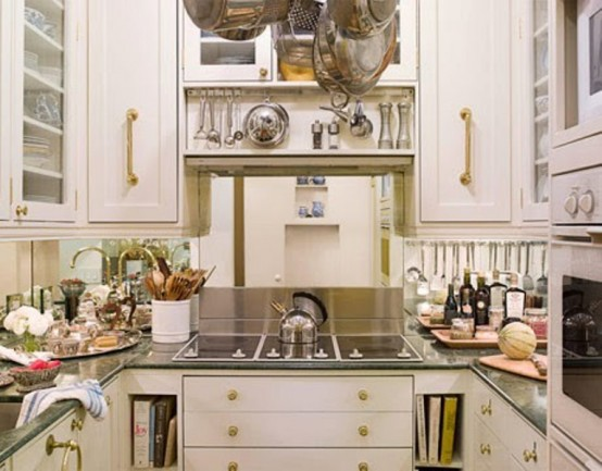 Fotos De Hermosas Cocinas Pequenas Ideas Para Decorar Disenar Y - Ideas-decoracion-cocinas-pequeas