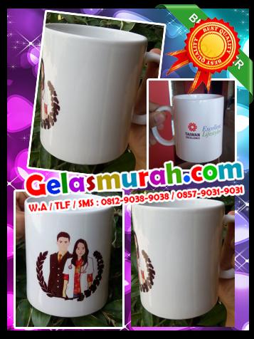 Distributor Souvenir Gelas Paling Murah di Talun, Kabupaten Cirebon