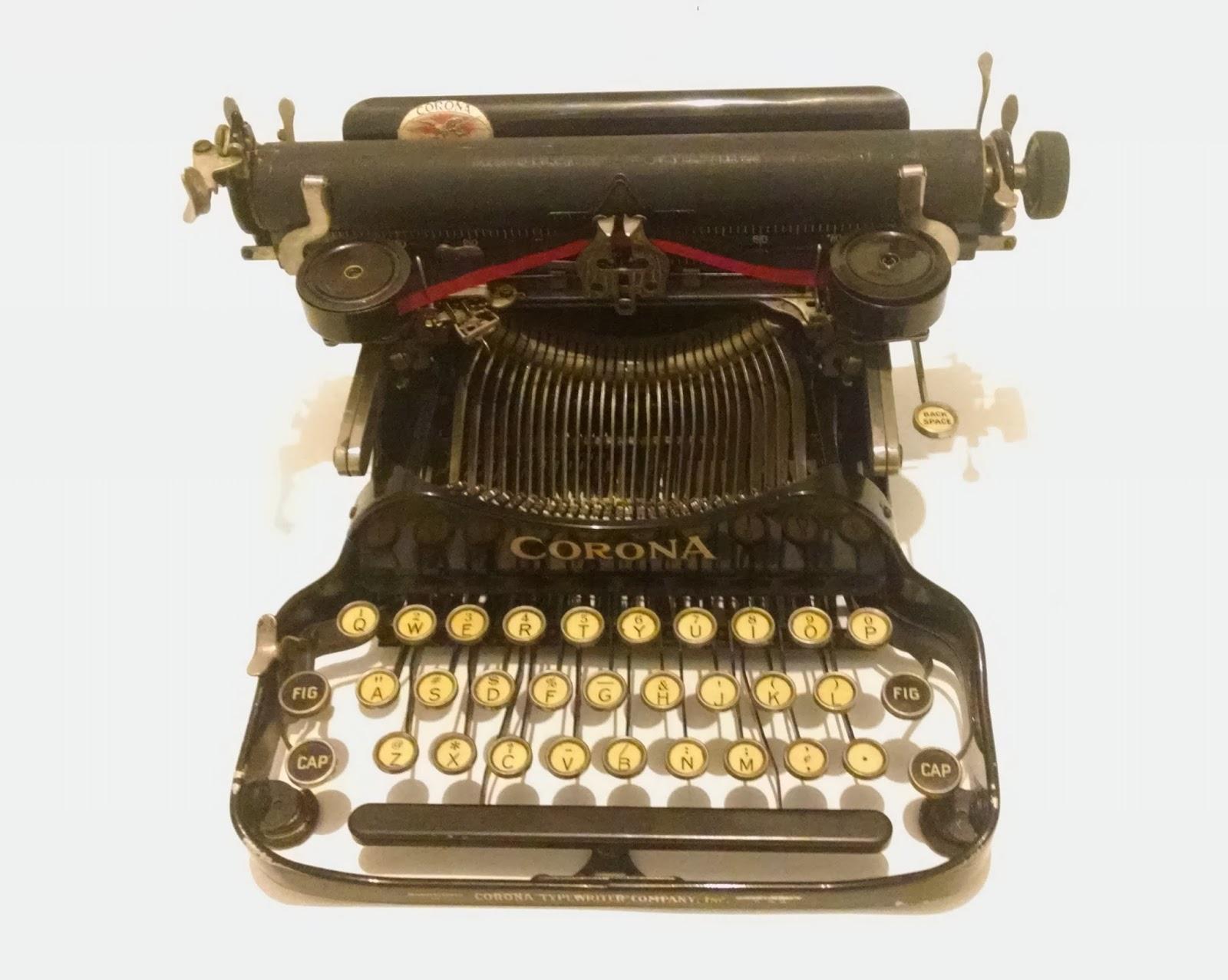 vermont vintage typewriter my corona 3. Black Bedroom Furniture Sets. Home Design Ideas