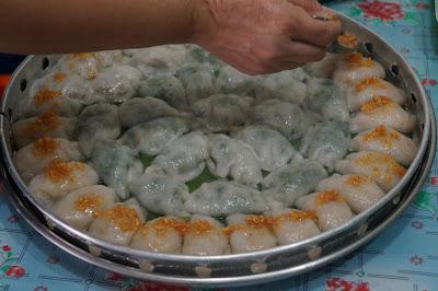 Chai kwe ditambah minyak bawang outih goreng