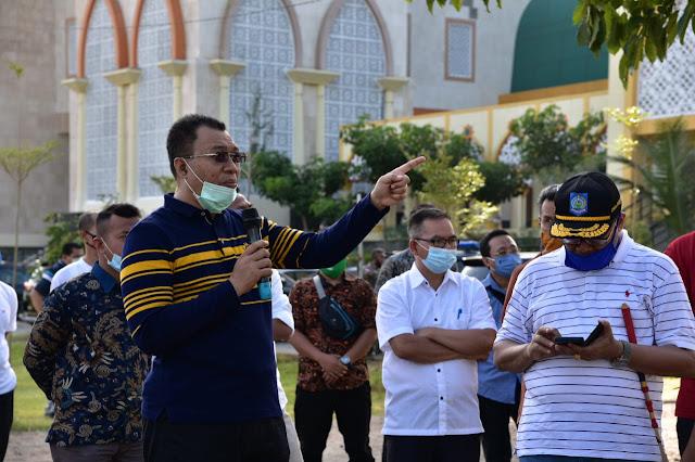 Pemprov NTB Mulai Menata Landscape Islamic Center