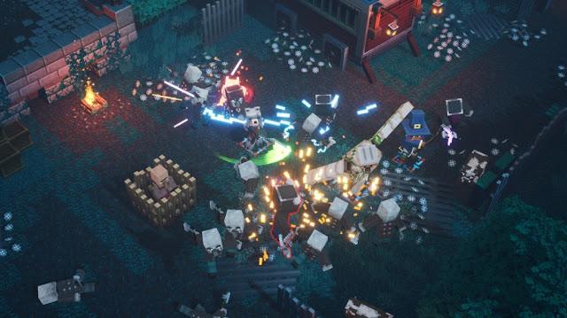 Screenshot Gameplay Minecraft Dungeons PC