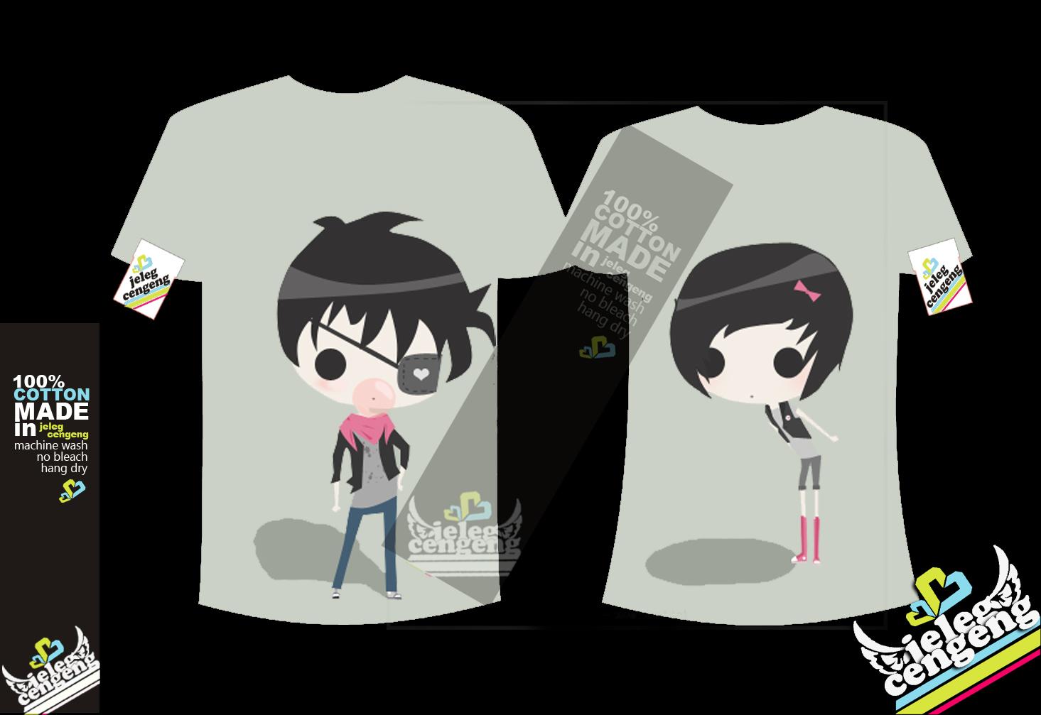 Contoh desain t shirt kelas - Kursus Komputer Jogja Murah Terbaik Contoh Desain Kaos Anime