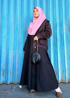 Hijab instan modern untuk penampilan syari