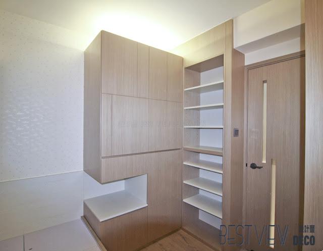 康怡花園睡房室內設計,Kornhill bedroom design