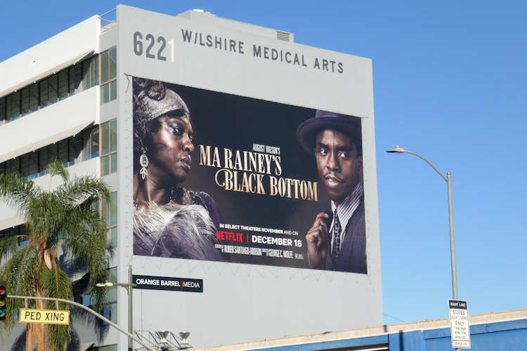 Giant Ma Raineys Black Bottom film billboard