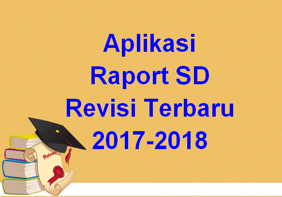 Aplikasi Raport SD Revisi Terbaru