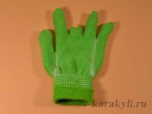 Свит рок для Барби из перчатки