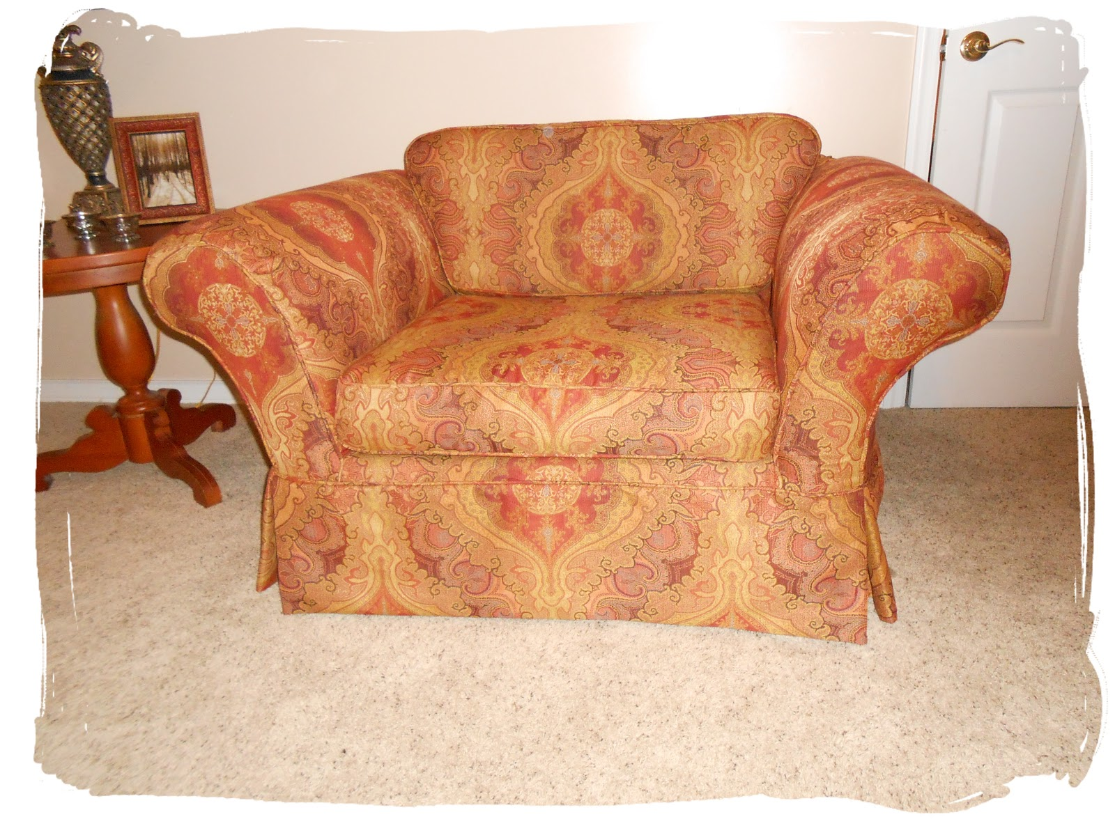 Chair And A Half Slipcovers Covers For Weddings
