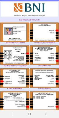 Pembayaran pajak kendaraan bermotor melalui ATM