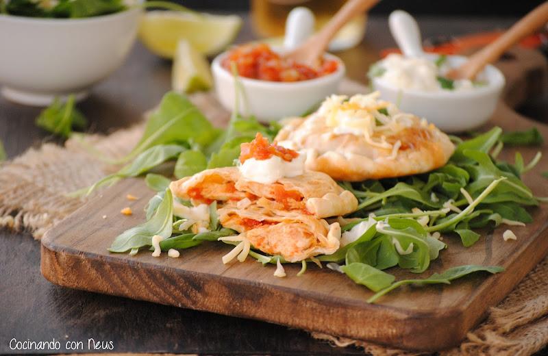 Empanadillas de pollo con crème frâiche-cocinando-con-neus