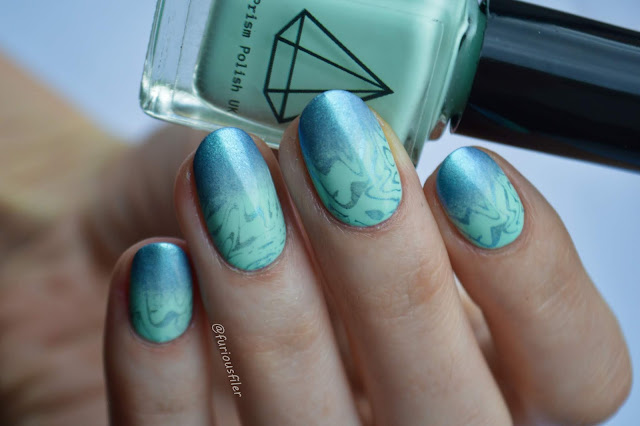 metallic gradient ombre summer holiday nails furious filer