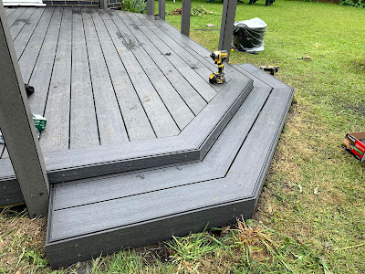 Composite decking Wales