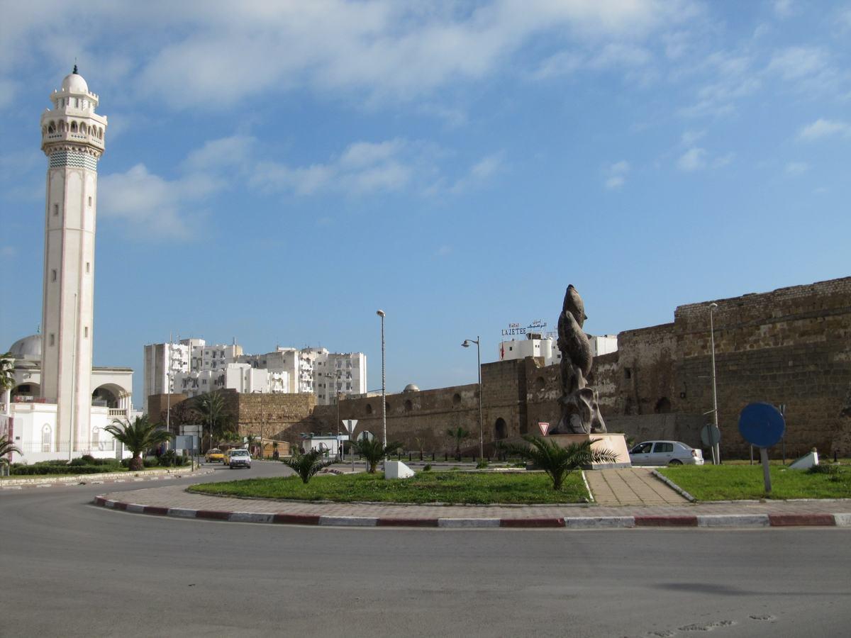 la Goulette, puerto de Tunez