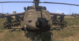 Arma3用UH060MパックMODのMH-60M DAP