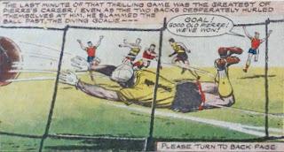1956/57 Melchester Rovers vs Dunard