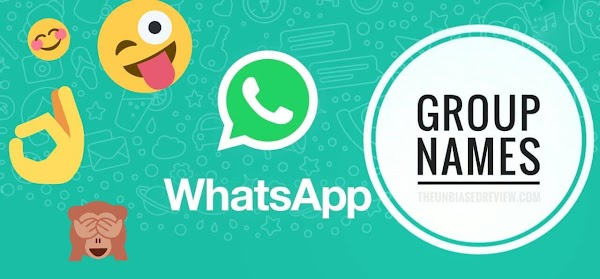Whatsapp Group Names (Family,Lovers,Friends)