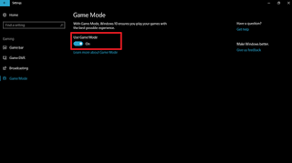 Cara Mengaktifkan Game Mode di Windows 10 Creators Update