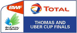 Live Thomas Uber Cup 2016
