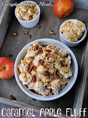 Caramel Apple Fluff by Everyday Mom Meals - Weekend Potluck 452