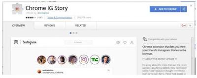 Cara Melihat dan unduh Instagram Stories di Komputer