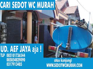 sedot wc dan limbah Bukit Citra Darmo Surabaya