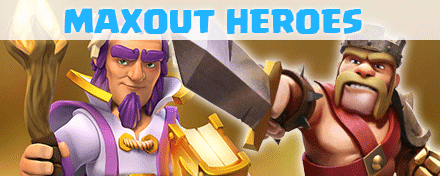 how to max out heroes in clash of clans