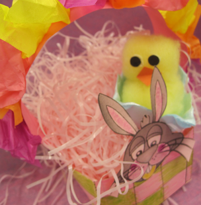 Bunny Basket - Easter Basket