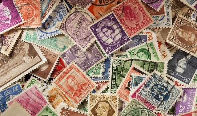 different types of stamps use postage stamp