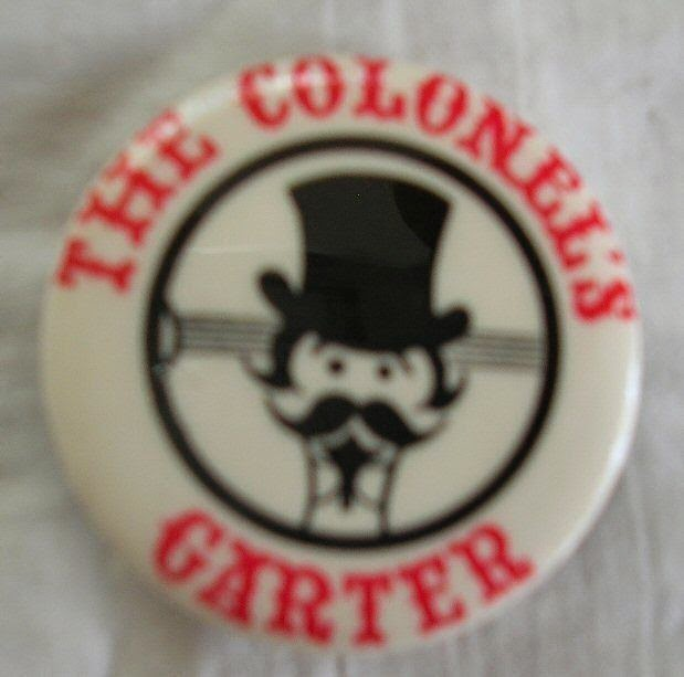 The Colonel's Garter button