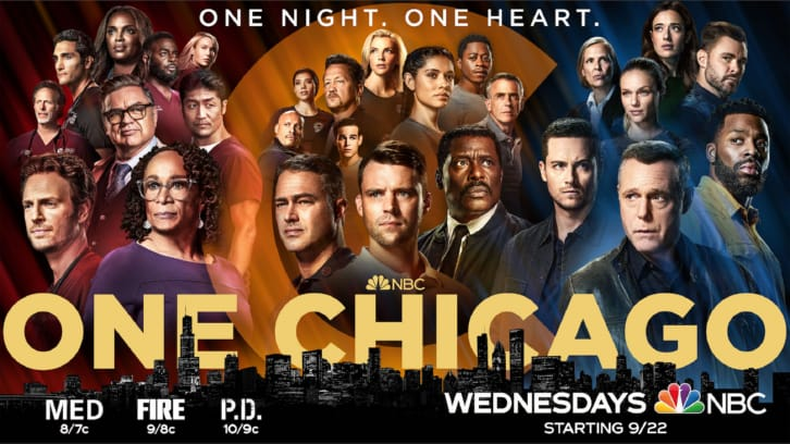 One Chicago - Returns Promos + New Promotional Posters and Key Art *Updated 16th September 2021*